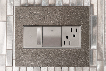 light switches, dimmers, wall plates and outlets